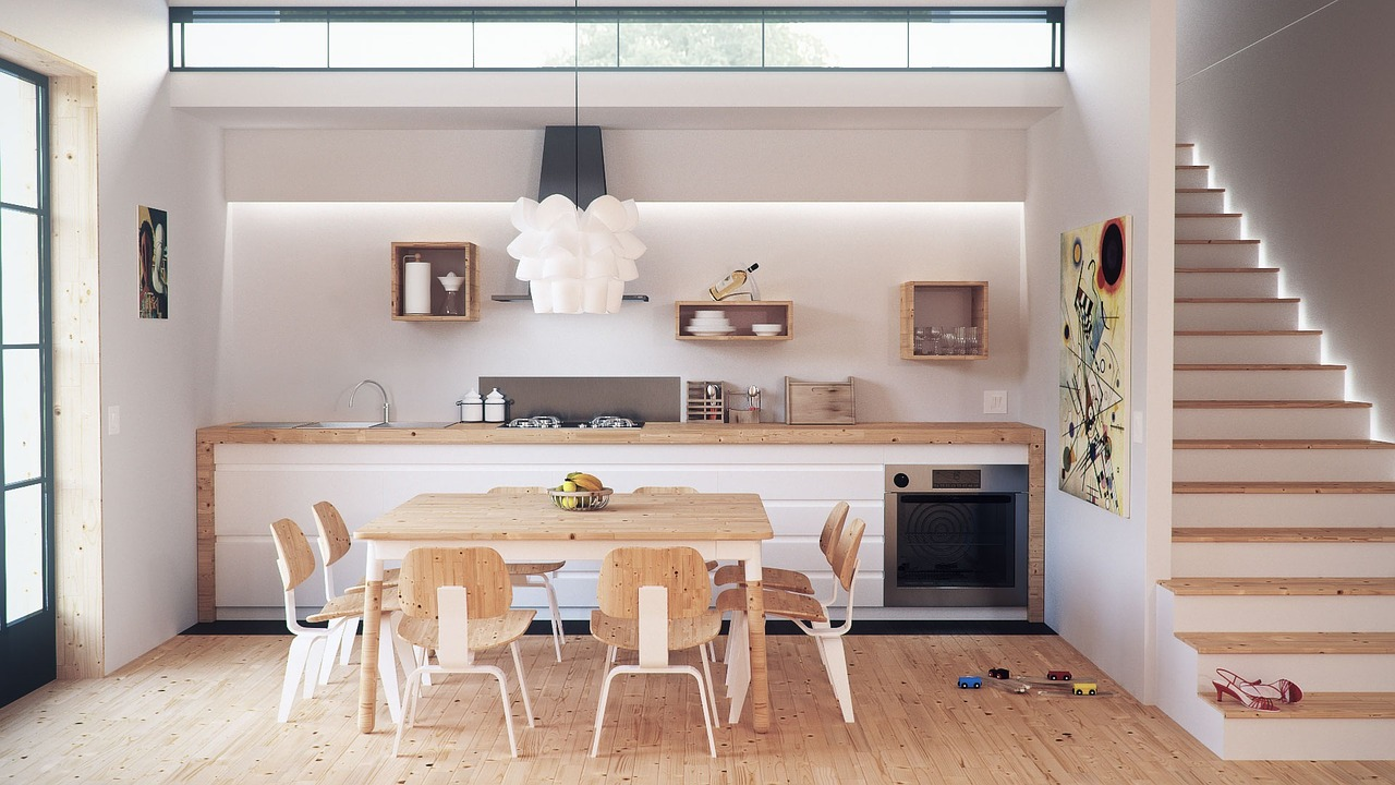 architecture 1087819 1280 - How to Renovate a Kitchen for a Co-working Space